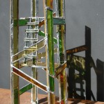 stained glass tower